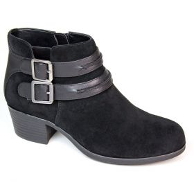 Utterly Suede Bootie